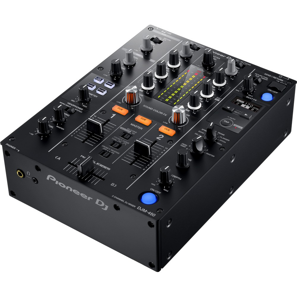 pioneer djm 450 table de mixage 2 voies. Black Bedroom Furniture Sets. Home Design Ideas