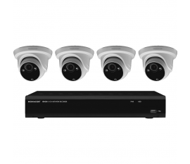 MONACOR IOZ-408DV Set de surveillance vidéo
