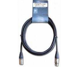 Cable micro XLR / XLR 1.5m Neutrik NC3MX-NC3FX