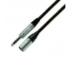 Cable Jack Stereo / XLRM 2m Neutrik NP3X-NC3MXX
