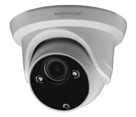 Monacor IOC-2812DV Caméra couleur dôme réseau 3 mégapixels