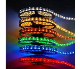 FLEXIBLE À LED - COULEURS AU CHOIX - 300 LED - 5m - 12V