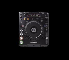 OCCASION Lecteur CD MP3 professionnel, carte mémoire SD/MMC CDJ1000MK3 + FLIGHT