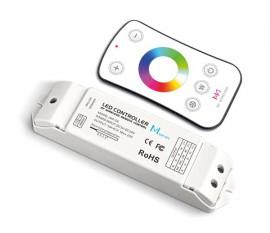 CONTRÔLEUR LED RGBW - AVEC TÉLÉCOMMANDE RF