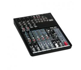 DAP-Audio GIG-83CFX Table de mixage live 8 canaux incluant dynamiques et DSP