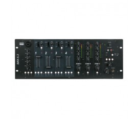 DAP-Audio IMIX-5.3 Table de mixage fixe 5 canaux, 4U, 3 zones
