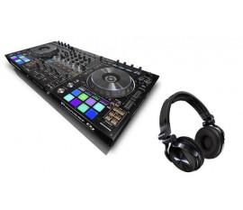 Contrôleur DJ 4 canaux professionnel avec rekordbox DJ + FREE HDJ1500