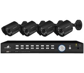 Set de surveillance vidéo 9 canaux