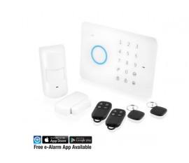 Le système d'alarme mobile EM8610 est la solution idéale pour sécuriser votre domicile et votre bureau. L'EM8610 fonctionne via un réseau mobile fiable.
