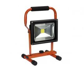 PROJECTEUR DE CHANTIER RECHARGEABLE LED - 20 W - 6500 K