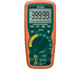 Multimètre numérique Extech EX530 étanche (IP67) CAT III 1000 V, CAT IV 600 V Affichage (nombre de points):40000