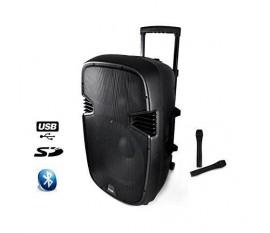 Sono portable Ibiza Hybrid 15 VHF