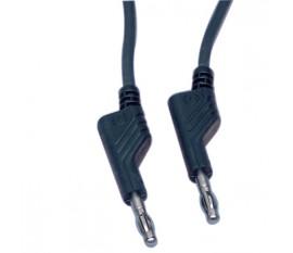 4mm sillicone measuring lead 1.00 m black