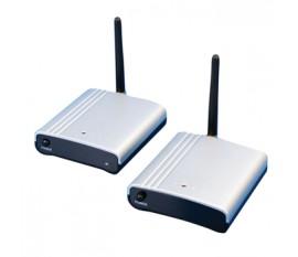 Transmetteur & récepteur A/V sans fil 2.4 GHz