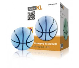 Lampe LED aux couleurs changeantes basketball
