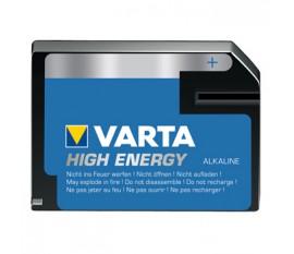 Piles alcalines J/4LR61 6 V High Energy 1pc/blister