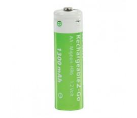 Batteries NiMH AA/LR6 1.2 V 1300 mAh R2GO 2-blister