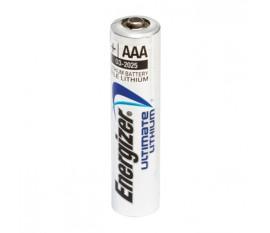 Lot de 4piles AAA/FR03 Energizer Ultimate Lithium 1,5V + 2piles gratuites