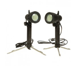 Lampes LED pour mini studio photo 40x 40x 40cm