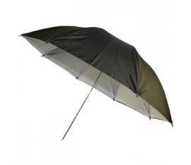 """Parapluie 36"""" noir/blanc"""
