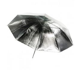 Réflecteur parapluie de photographie monocouche en argent Ø 100 cm