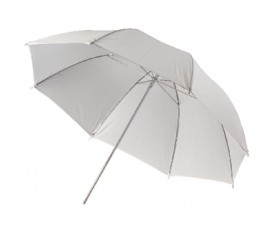 Réflecteur parapluie de photographie blanc transparent Ø 100 cm