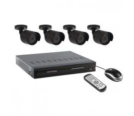 Enregistreur pour caméra de sécurité avec disque dur intégré de 500 Go