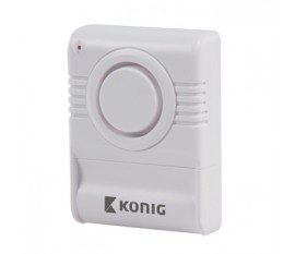 Wireless glass break alarm 130 dB