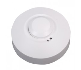 Ceiling or wall motion sensor switch