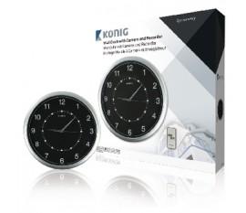 Horloge murale à caméra et enregistreur intégré