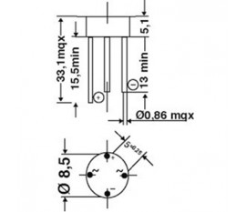 Bridge rectifier round