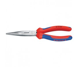 Chain nose side cutting plier, stork beak plier, 200 mm