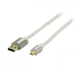 Interconnexion Micro USB B Haute Performance 2.0 m