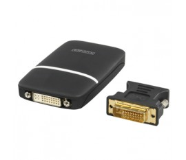 Adaptateur USB 2.0 vers VGA/DVI