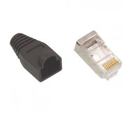 RJ45 CAT 5 connector black