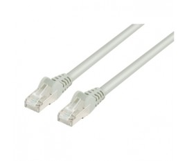 FTP CAT 6a network cable 0.50 m grey
