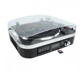 Platine vinyle USB avec haut-parleurs