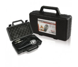 Dynamic microphone with case