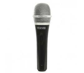 Uni-directional dynamic microphone metal black