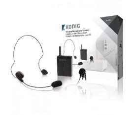 Système de microphone sans fil avec boîtier