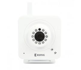 Caméra IP d'intérieur perfectionnée, blanche