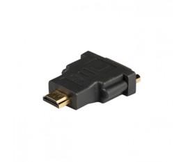 Adaptateur HDMI™ vers DVI, connecteur HDMI™ vers DVI-D femelle, 1 pce, gris