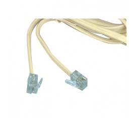 Modular extension cord 2.00 m ivory