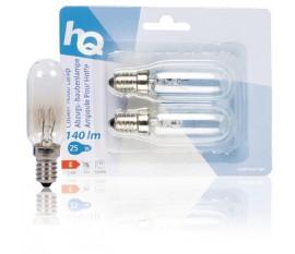 Ampoule pour hotte E14 25W lot de 2