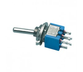 Toggle switch 6p 125 V 3 A