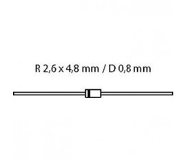Diode SI-D 1000V 1A/50Ap
