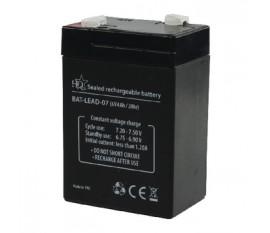 Batterie au plomb acide 6 V 4 Ah
