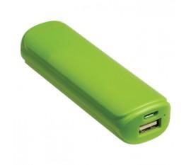 Batterie portable 2200mAh, 5V, 1A, verte