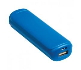Batterie portable 2200mAh, 5V, 1A, bleue