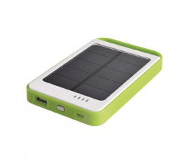 Compact Solar USB Power Pack, 6000mAh